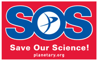 SOS Sticker